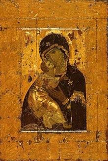 ウラジーミルの聖母(生神女)12世紀ごろ