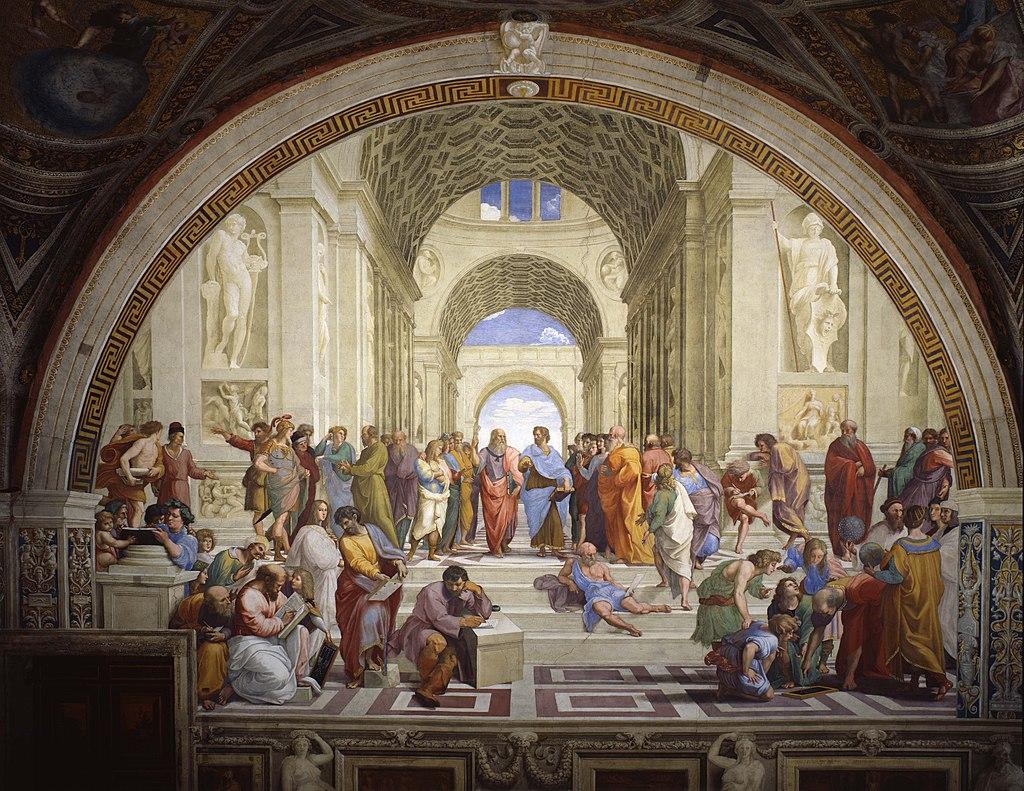 ラファエロ《アテネの学堂》