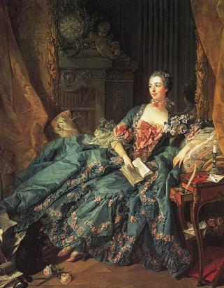 フランソワ・ブーシェ《ポンパドール夫人》