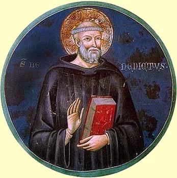 ベネティクト派の僧侶
