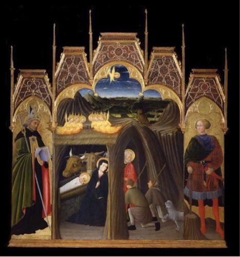 ピエトロ・ディ・ジョヴァンニ《キリスト降誕》