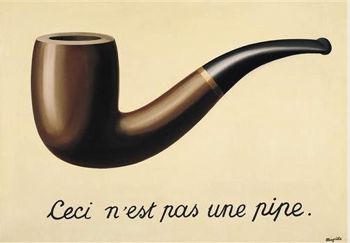 ルネ・マグリット《イメージの裏切り》