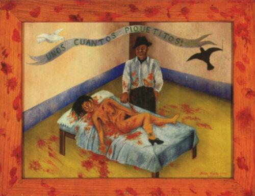 フリーダ・カーロ《ちょっとした刺し傷》