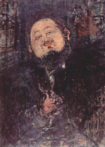 モディリアーニ《ディエゴ・リベラの肖像》