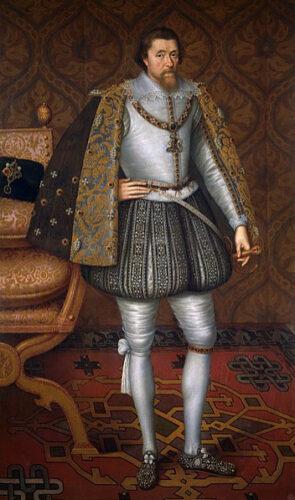 ジョン・ド・クリッツ《ジェームズ1世》
