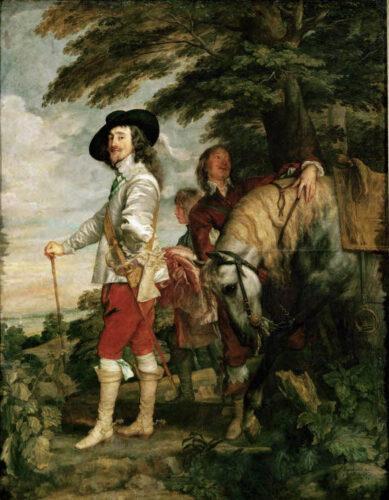 ダイク《狩り場のチャールズ1世》
