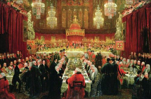 ルーク・クレネル《1814年6月18日の晩餐会》