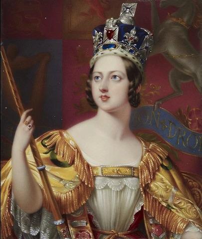 ジョージ・ハイター《戴冠式のヴィクトリア女王》