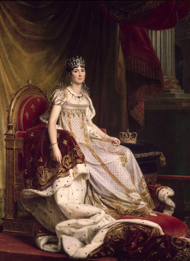 フランソワ・ジェラール 《皇后ジョゼフィーヌ》