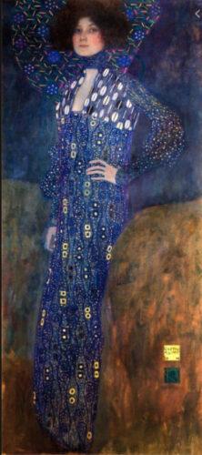 クリムト《エミーリエ・フレーゲの肖像》