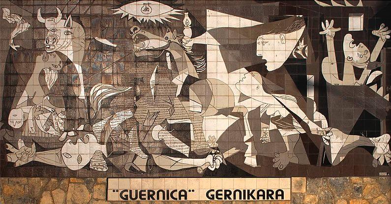ピカソ《ゲルニカ タペストリー》