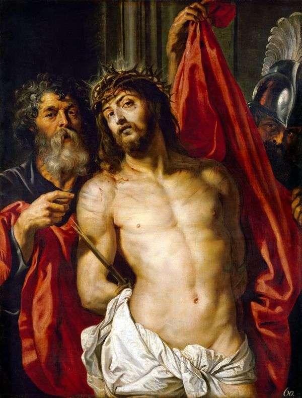 いばらの冠を被るキリスト