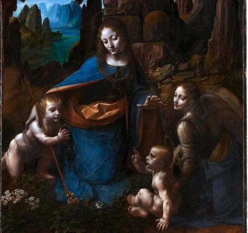 巌窟の聖母(ロンドン版)