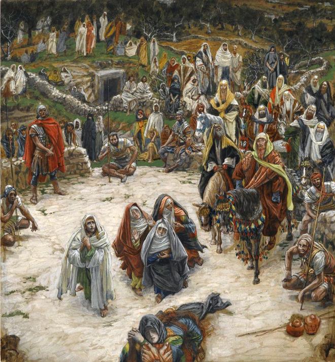 ジェームス・ティソ《キリストの磔刑》