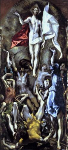 エル・グレコ《イエスの復活》
